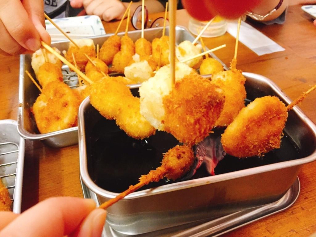 串カツは高カロリーだがダイエット中におすすめ