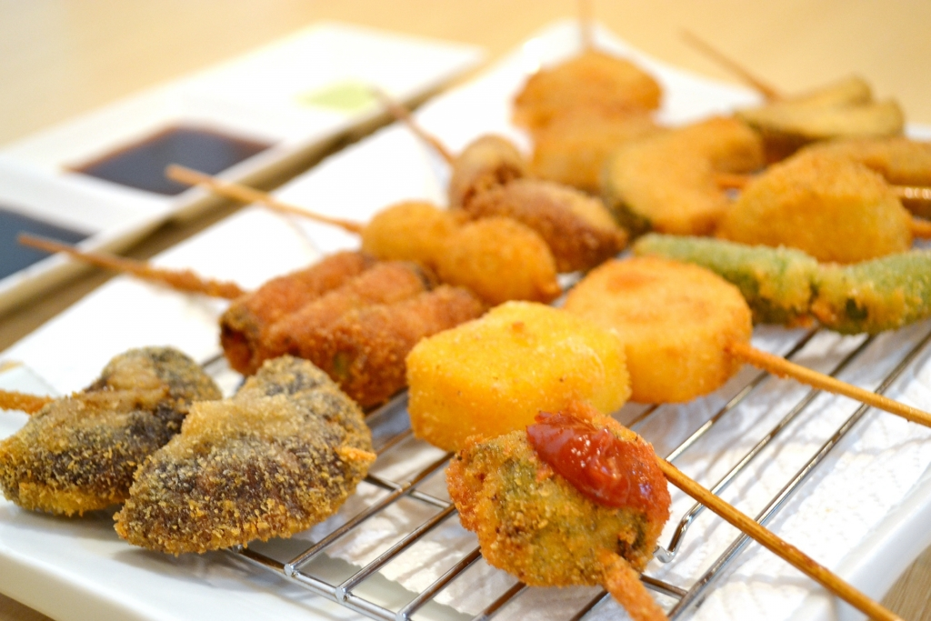 野菜の串カツカロリー