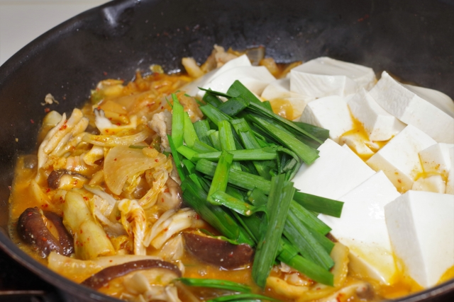 豚キムチ鍋のカロリー
