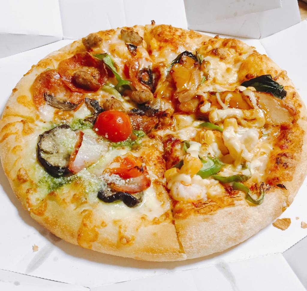 ピザハット 宅配ピザ カロリー 画像