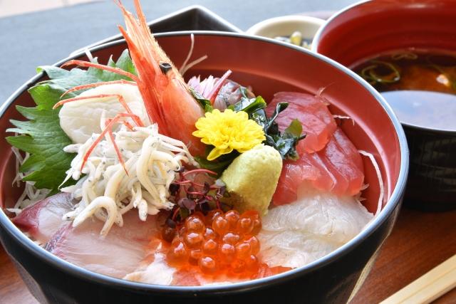 海鮮丼 ダイエット カロリー