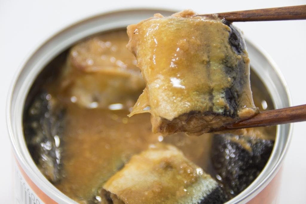 サバ缶「味噌煮」のカロリー