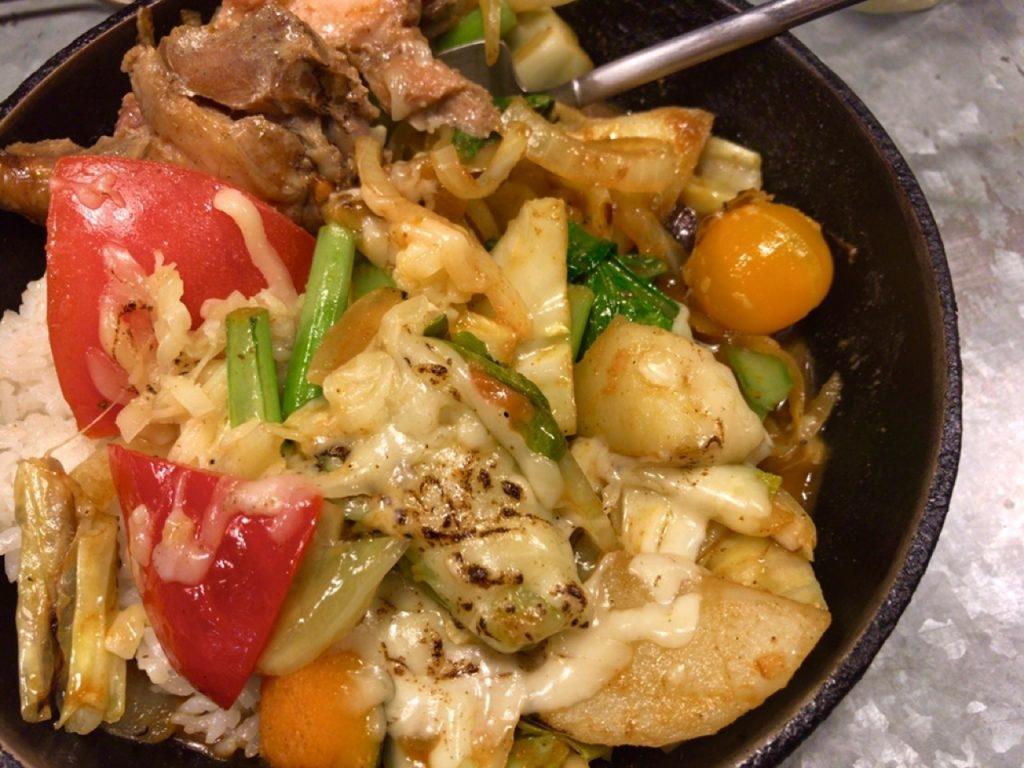 野菜カレー カロリー