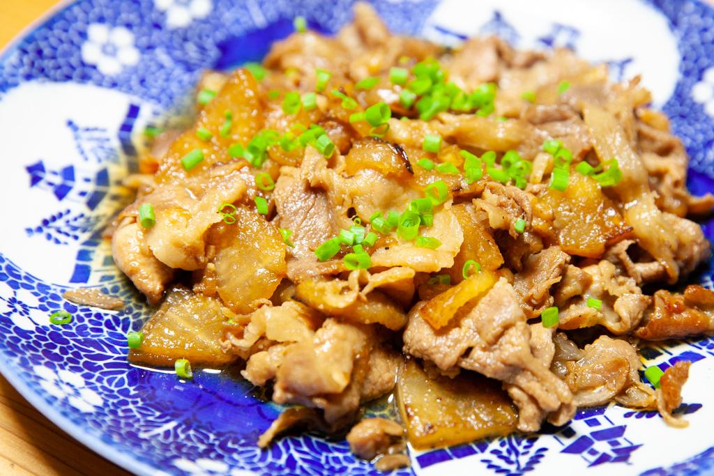 豚肉と大根炒め カロリー